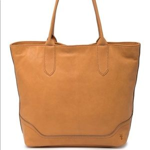 Frye Madison Leather Tote in Tan
